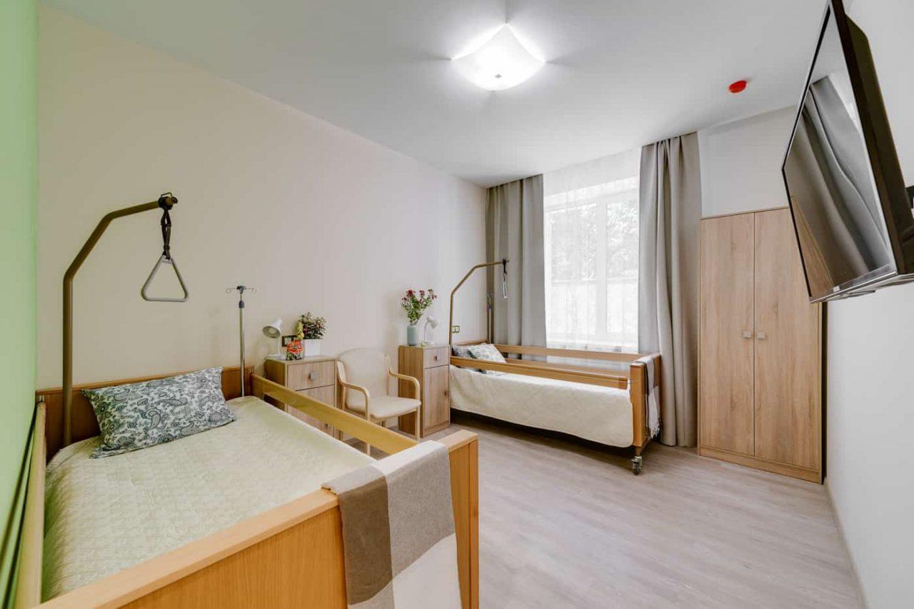 Двухместная комната в пансионате Идиллия