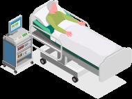 Как пересадить больного с кровати на кресло